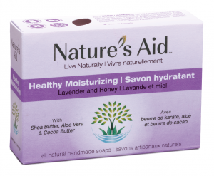 Healthy Moisture all natural handcrafted soap