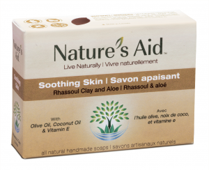 Handcrafted soothing skin all natural soap