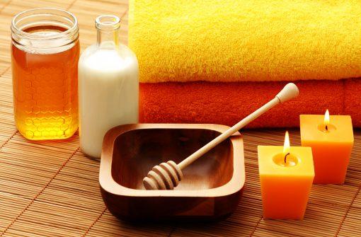 honey and milk spa