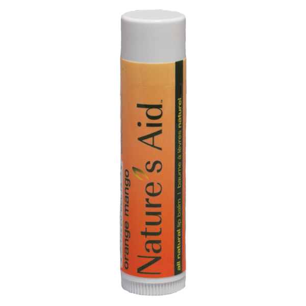 Orange Mango Tube Lip Balm with Orange Label