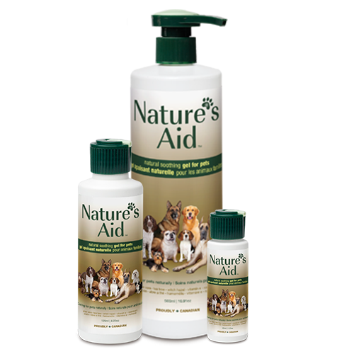 Natural Pet Care -Soothing Gel for Pets