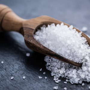 Coarse Salt - also known as sodium chloride
