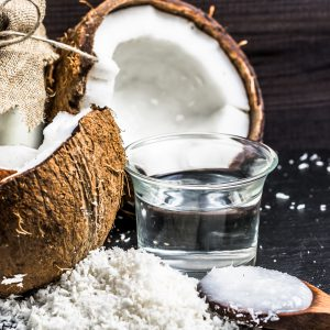 Ingredients derived from coconut oil