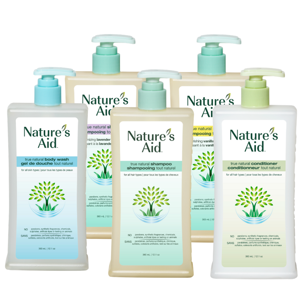 Nature's Aid Bath and Shower Products