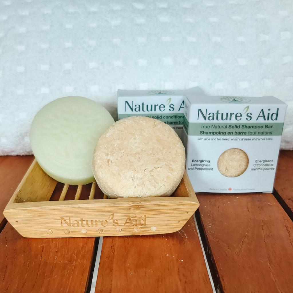Nature's Aid Solid Shampoo Bars