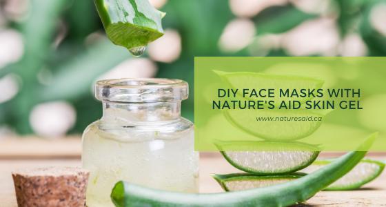 DIY aloe vera face masks